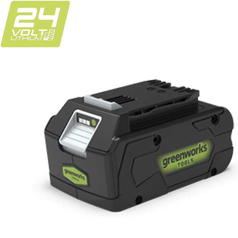 GREEWORKS 1PC 24V 4ah Lithium-Ion High Quality ECO Lithium Battery Suitable For Various Products Of Greenworks