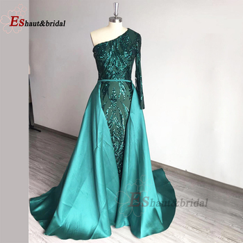 Elegant Muslim Mermaid Prom Party Gowns