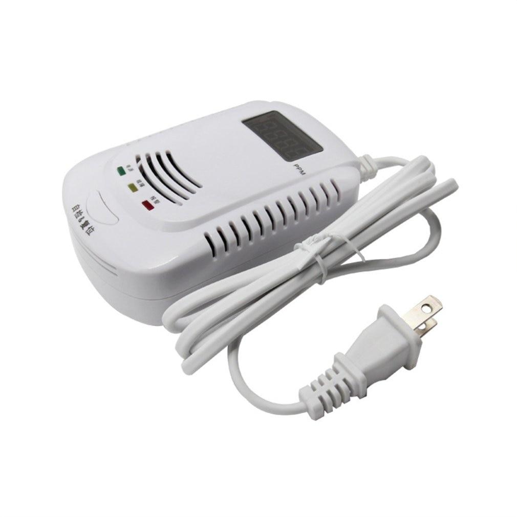 Digital Display CO Gas Sensor Tester Voice Warning Carbon Monoxide Alarm Detector For Home Security System