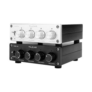 Image 5 - מגבר Lossless אודיו ספליטר NE5532 Op Amp 1 קלט 4 פלט RCA אודיו מפיץ עם טון נפח שליטה מגברי DIY