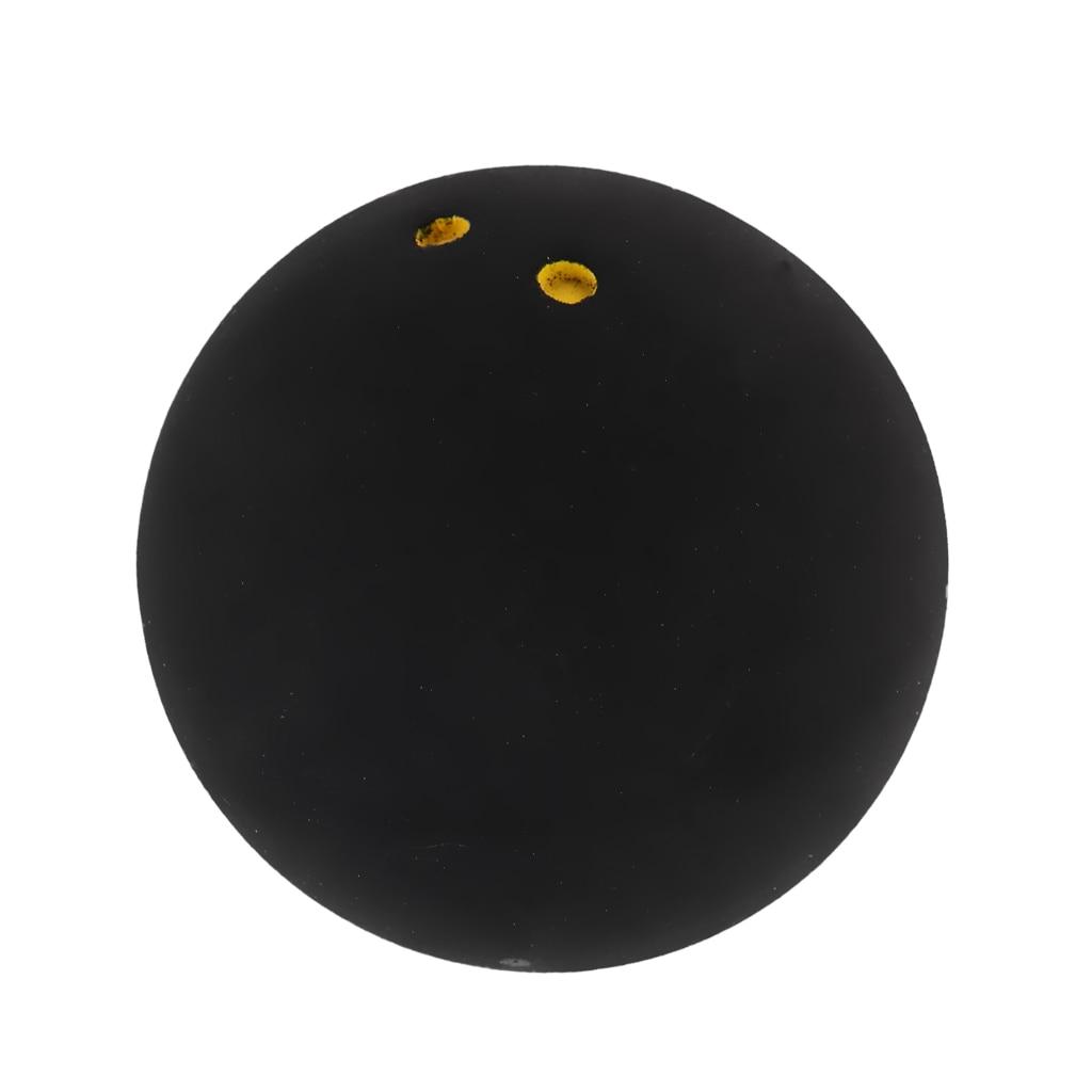 Standard Speed Double Yellow Dot Racquetball Balls High Bounce Rubber Ball