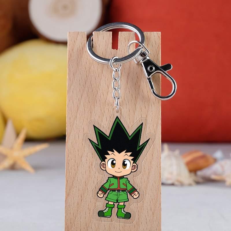 Акриловый брелок для ключей с аниме Hunter X Hunter, Милые Акриловые фигурки, кулон, Коллекционная модель, подарок для охотника