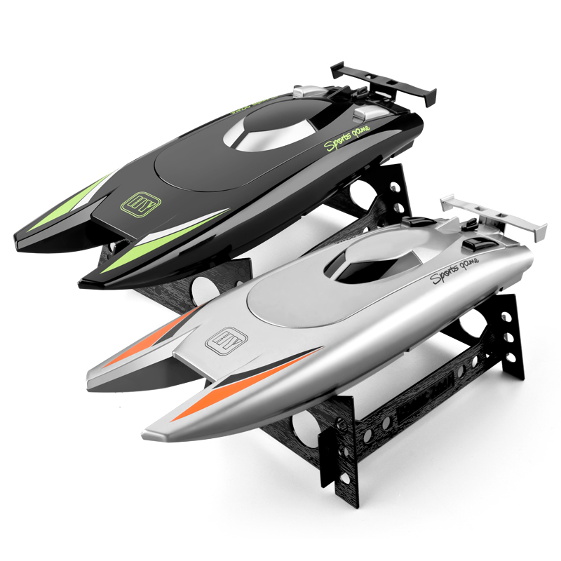 High Speed Rowing 2.4G Radio Remote Control Boat 7.4V Capacity Battery Dual Motor Rc Boat 30km Per Hour Toys For Kids Gift