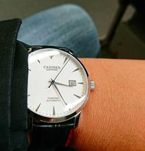 Cadisen Mechanische Horloge Mannen Top Brand Luxe Automatische Horloges Mens Miyota 9015 Real Diamond Horloge Klokken Reloj Hombre