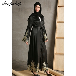 Image 2 - Vestido largo clásico para mujer, ropa de Verano, Bohemia, bordada, holgada, con cuello redondo, gran oferta barata, 2019