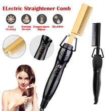 Dropshipping Hair Straightener Hot Comb Electric Ha