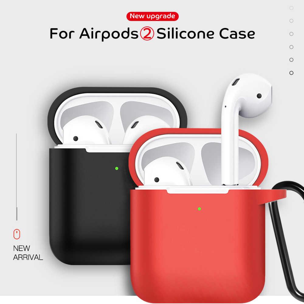 Dành Cho Tai Nghe Airpods 2 Ốp Lưng Không Vỏ Ốp Lưng Silicon Tai Nghe Không Dây Bluetooth Cho I12 I60 TWS I10 TWS I9S I7s I70 i80 I90 I100 I200