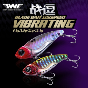 EWE 2020 NEW 8.5g 13.5g blade bait metal VIB Fishing Lures C44S C52S Wobbler Vibration baits tackle for Trout Bass Pike perch