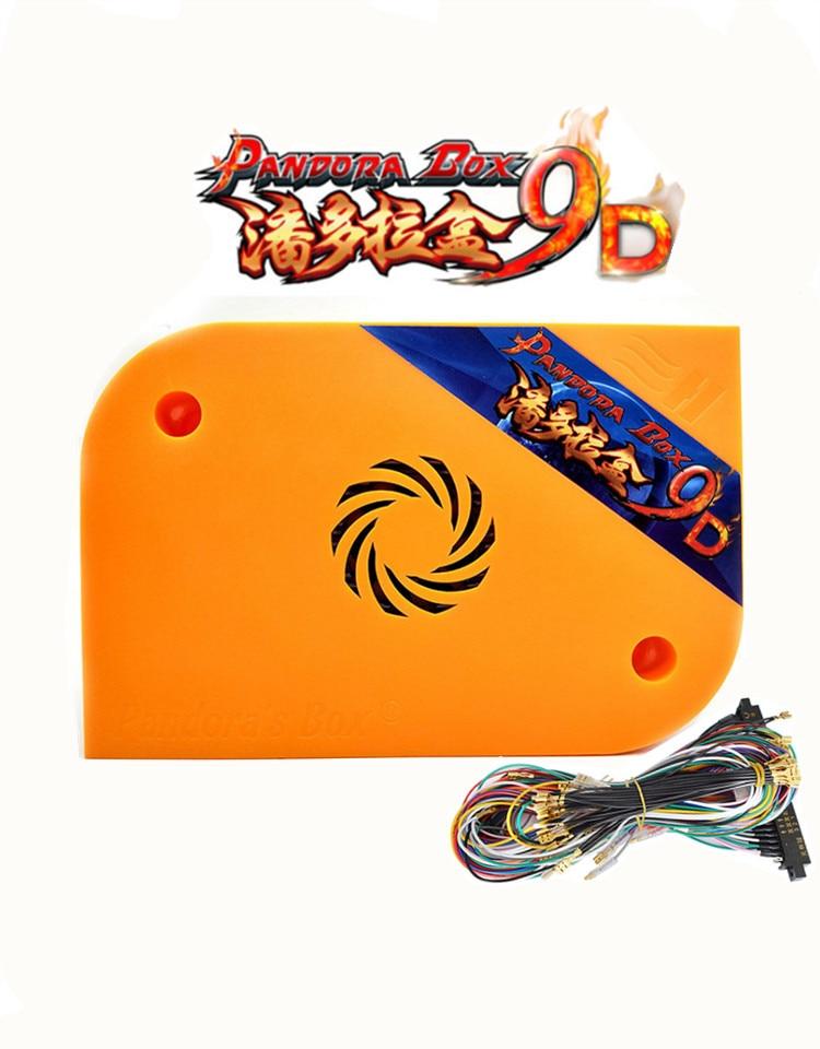 2019 Pandora Box 9D Arcade Version JAMMA Multi Games Board 2222 In 1 Support HDMI VGA For Arcade Machine Cabinet