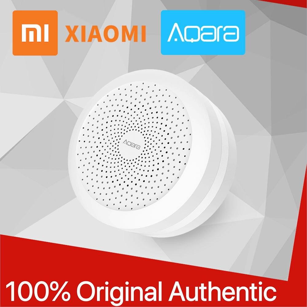Xiao mi Aqara porte façon 100% moyeu d'origine mi avec rvb Led veilleuse intelligente Xio mi travail avec Apple Homekit pour Aqara maison mi jia APP