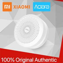 Xiaomi Aqara Gate way 100% Original Hub Mi with RGB Led night light Smart Xiomi work with Apple Homekit for Aqara Home Mijia APP(China)