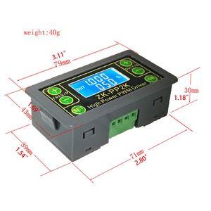 Image 5 - ZK PP2K PWM DC سرعة المحرك تحكم التردد واجب دورة منظم قابل للتعديل التبديل LED باهتة الرقمية نبض سائق 2 طرق