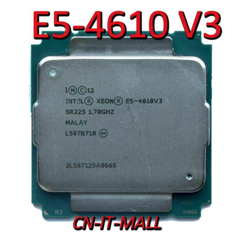 E5-2630LV3 Original Intel Xeon OEM Version E5 2630LV3 CPU 8-cores 1.80GHZ 20MB 22nm LGA2011-3 E5 2630L V3 Processor