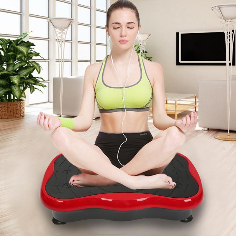 Household Exercise Fitness Slim Vibration Machine 110/220V 200W Fat Burning Shaking Machine Body Shaper Exercise Massager HWC