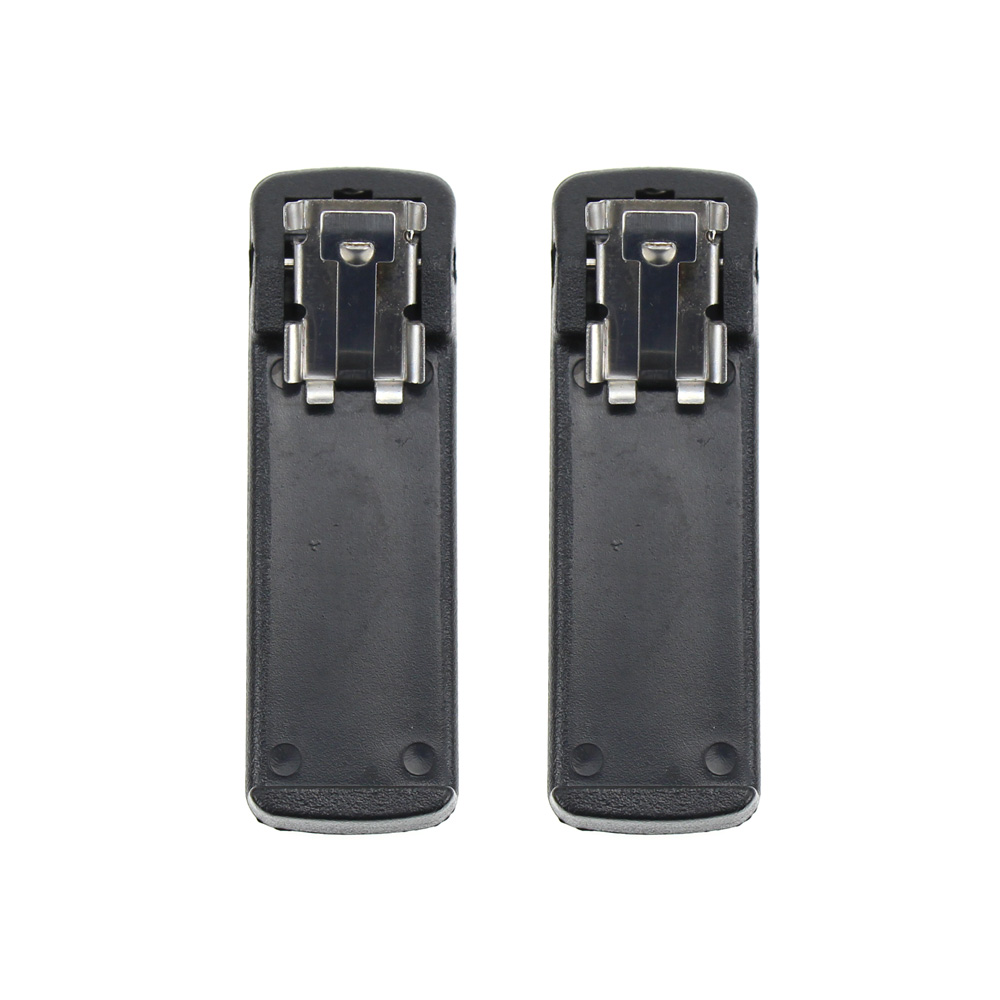 2X Battery Belt Clip For Motorola NTN7143R NTN7144 NTN7144A NTN7144CR Replacement Battery