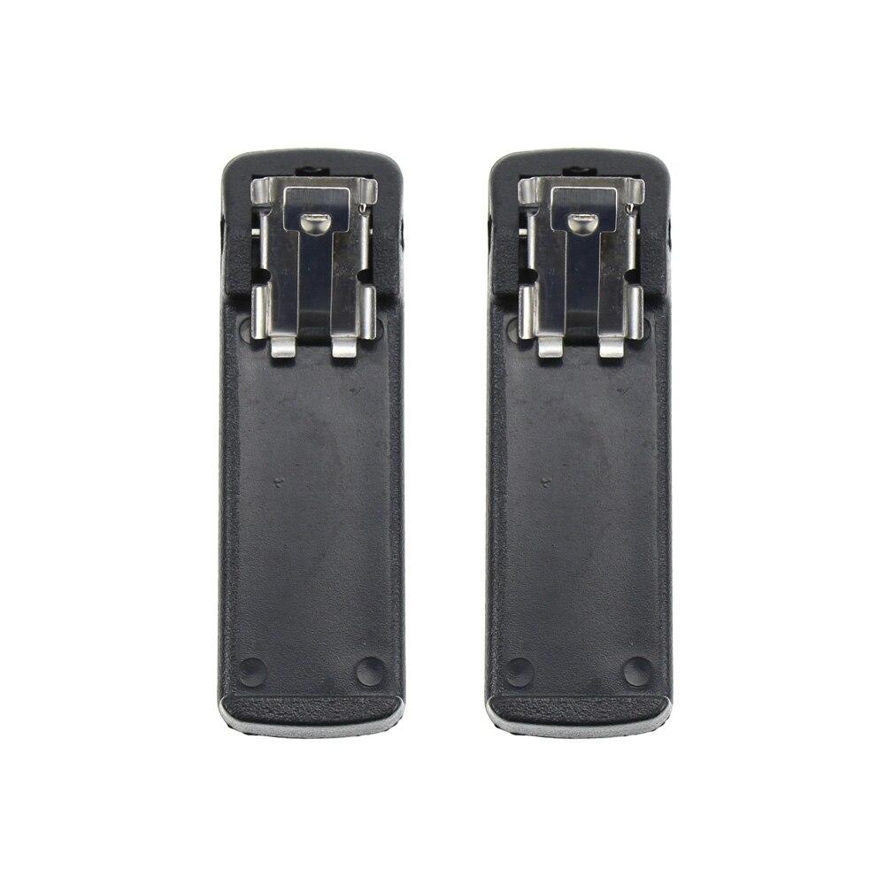 2X Battery Belt Clip for Motorola NTN7143R NTN7144 NTN7144A NTN7144CR Replacement