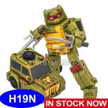 Newage brinquedos na figura de ação brinquedos h19n pizzeria caminhão tortoise deformação transformação