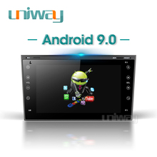 Uniway AOB7071 DSP Android 9.0 DVD สำหรับรถยนต์ Opel Meriva Antara Zafira VEDA Agila Corsa Vectra Astra H 2006 2007 2008 200