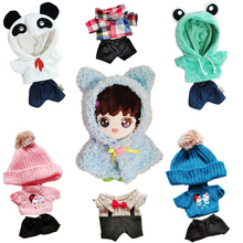 Hoodie Outfit Dolls-Accessories Doll's Plush Idol Korea Kpop Lovely Cloth for EXO 20cm