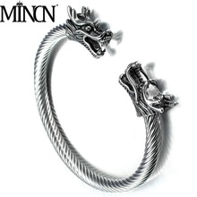 MINCN stainless steel bracelet foreign trade style punk titanium mens faucet
