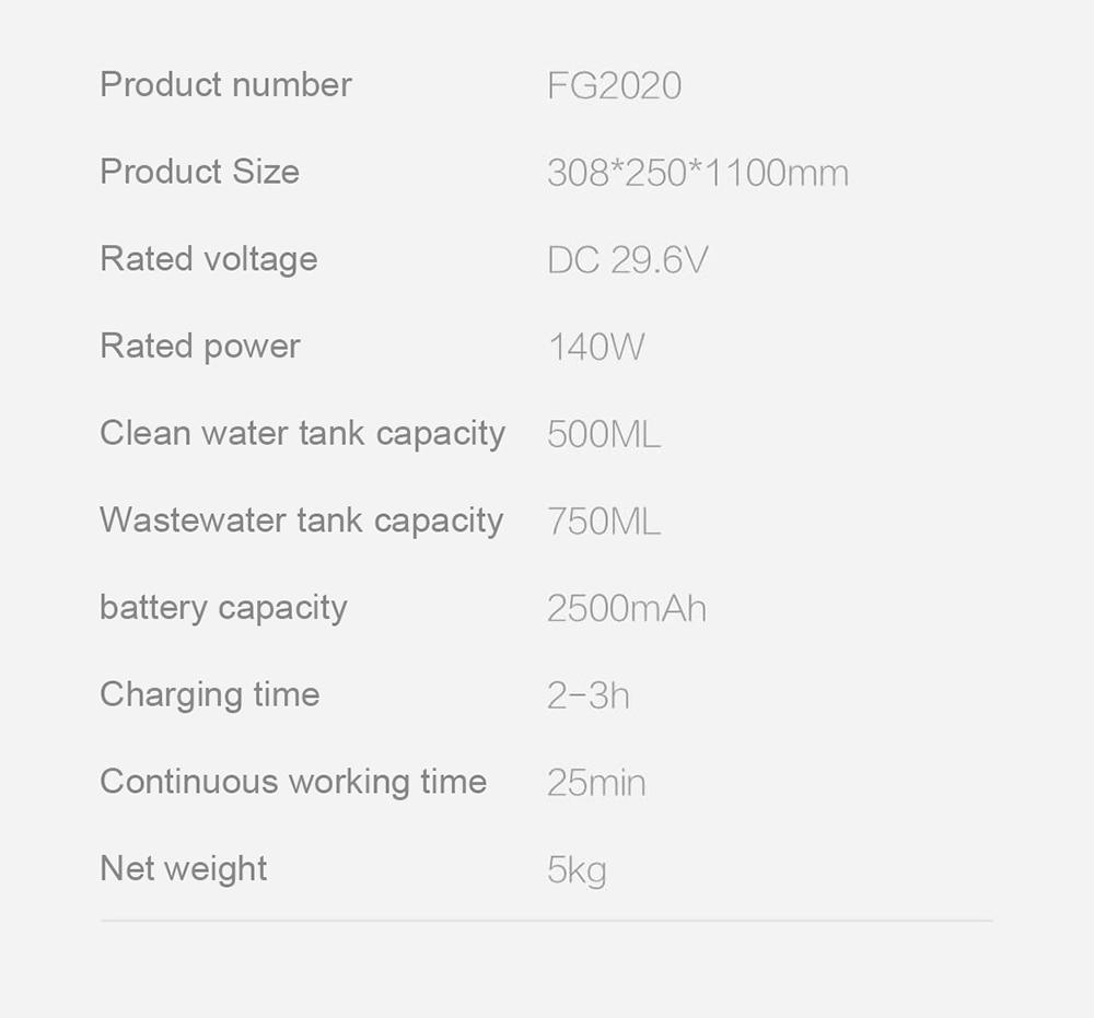 SWDK FG2020 Cordless Vacuum Cleaner