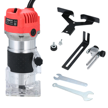 Electric Trimmer Woodworking-Tool Palm-Router Laminate Edge 800W 30000rpm Beginner