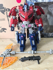 Image 3 - COMIC CLUB Transformation ITF OVERSIZE WCF OP Commander red white Action Figure Robot Toys