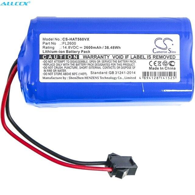 Cameron Sino 2600mAh Batteria FL2600 per Haier TAB T550WSC,TAB T560H, Per EUFY RoboVac 11, RoboVac 11s