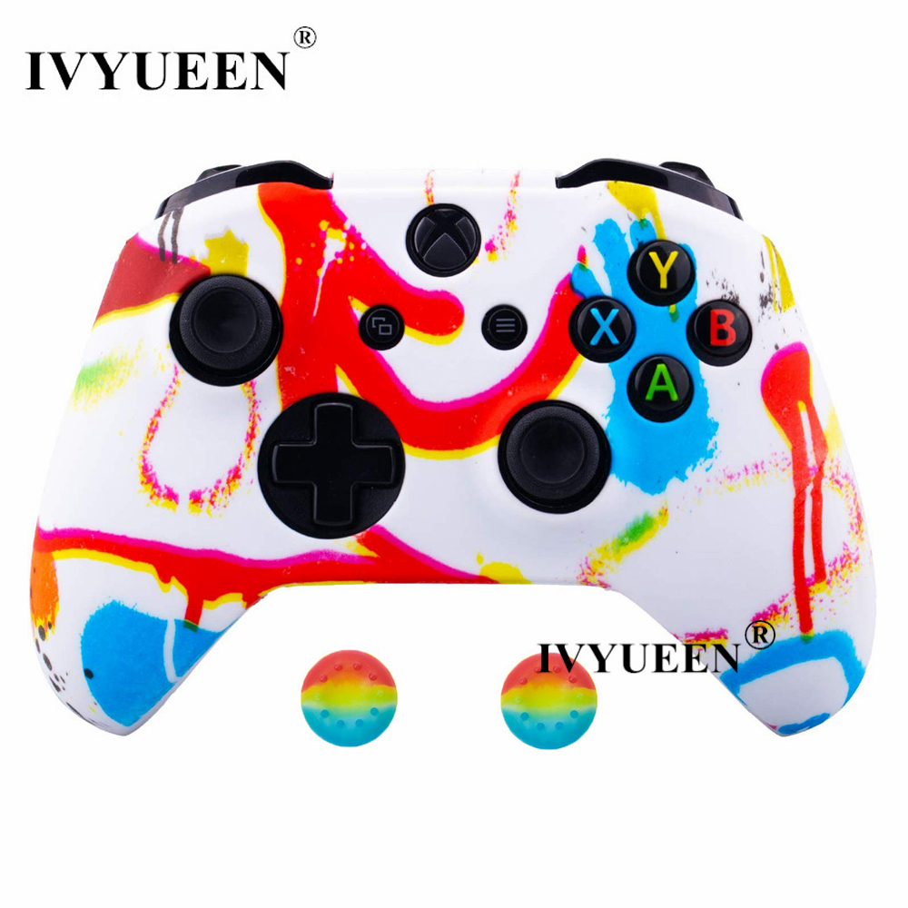 for Xbox one S X controller silicone case kin 8