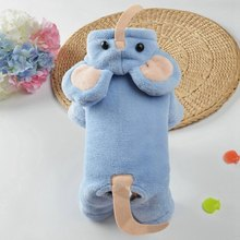Velvet Dog Cat Jumpsuit Funny Elephant Design Clothes Costume For Small Dog Pet Puppy Hoodie Coat Halloween Christmas Party Appe(China)