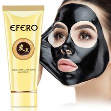 EFERO Black Mask Face for Care Head Remover Pore Strip Nose Dots Peeling Acne Treatment Blackhead
