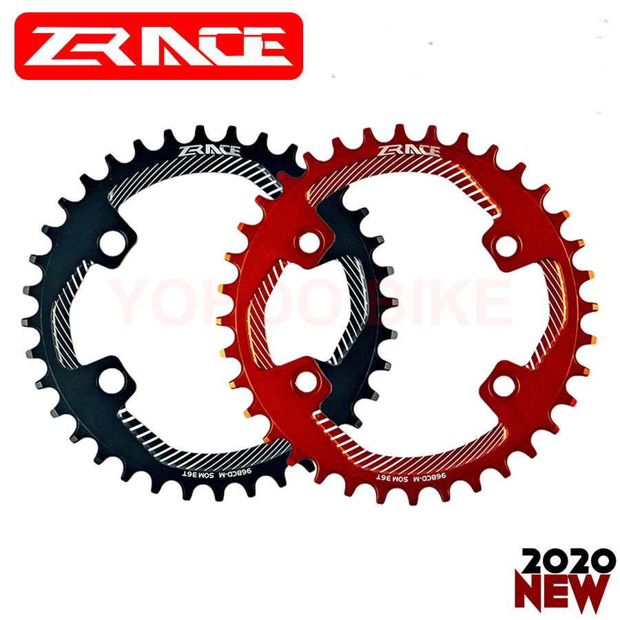 ZRACE Bike BCD 96 Narrow Width Crankset Tooth Chainring Chainwheel MTB Mountain For Shimano M8000 M7000 M6000,32T 34T 36T 38T