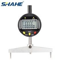 SHAHE High accuracy digital radius gauge digital multi indicators radius indicator with 5 changeable measuring jaw