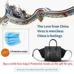 Новый Известный Дизайнерский Бренд Класса Люкс Женские Кожаные Сумки Модная сумка с улыбающемся лицом и качеством