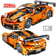 Bausteine Creator 1:14 Stadt Hohe-tech Supercar Sport Auto Modell Mechanische Racing Fahrzeug Racer MOC Ziegel Spielzeug Für kinder