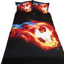 Футбольные пододеяльники постельные принадлежности простыни