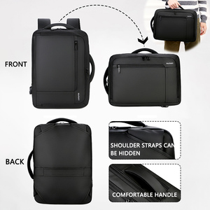 "Image 2 - 2019 Mens Anti theft 14 15.6"" inch Laptop Backpack USB Charging Waterproof Male Business Travel Back Pack  Boys School Bagpacks"
