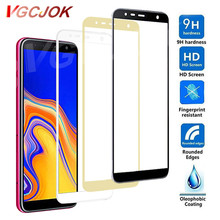9D ป้องกันสำหรับ Samsung Galaxy J2 J4 J7 Core J2 J5 J7 PRIME J4 J6 PLUS J8 2018 Tempered glass Screen Protector กรณีฟิล์ม(China)