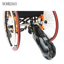 24V 250W électrique fauteuil roulant tracteur fauteuil roulant Handbike bricolage électrique fauteuil roulant Kits de Conversion avec batterie tracteur électrique