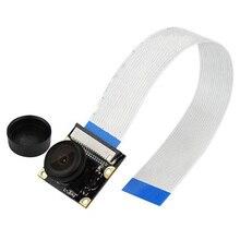 Fisheye 와이드 앵글 카메라 모듈, 라스베리 파이 3 B Day/Night Vision 웹캠 센서 OV5647 5 메가 픽셀 1080P