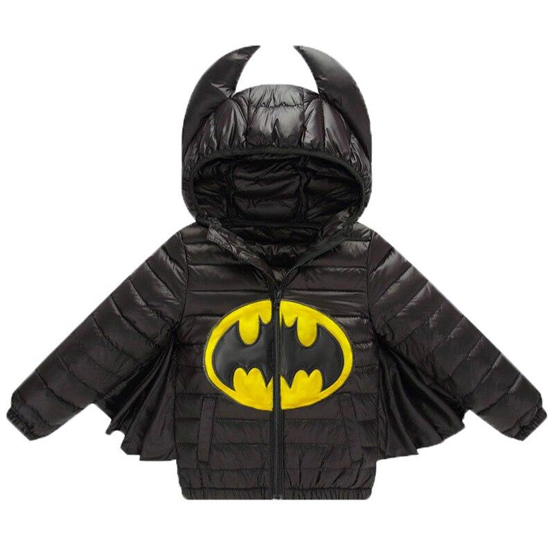 Baby Boys Girls Jacket Autumn Winter Warm Down Coat Jacket Hoodies Outerwear Christmas Children Kids Clothes Halloween Clothing 1