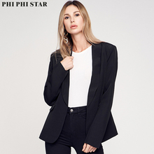 Phi Star Brand New Style Fashion Women Lady Suit Coat Blazer Long Sleeve Jacket Outwear Clothes Female