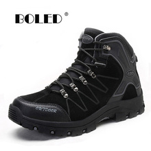 Vintage Style Men Boots Anti-Skidding Outdoor Men Shoes Male Spring Autumn Ankle Boots Waterproof Shoes Men Dropshipping
