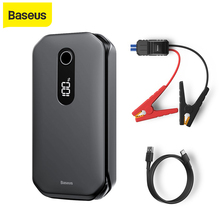 Baseus 12000Mah Auto Jump Starter Power Bank 1000A Uitgangspunt Apparaat Booster Auto Voertuig Emergency Batterij Voor 3.5L/6L auto Booster