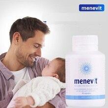 Australia Menevit Male Fertility Supplements Pregnancy Compound Vitamins for Men Sperm Health Conception Zinc Lycopene Selenium