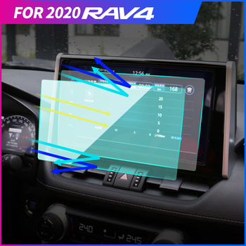 My Good Car GPS Navigation Tempered Glass Screen Protector Car Central Control Screen Protective Film For Toyota RAV 4 2019 2020 image
