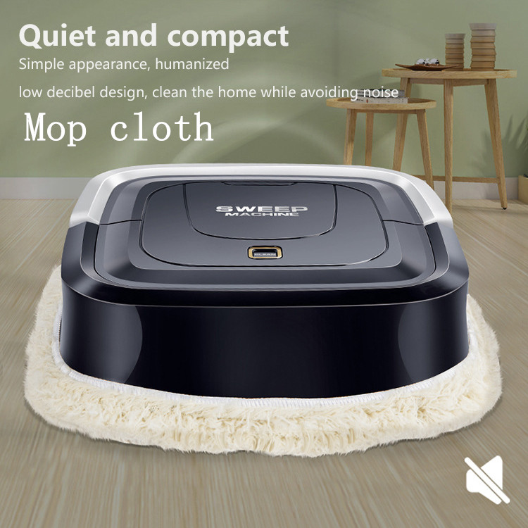 Special Section Usb Microfiber Mop Cloth For Mini Mopping Robot Smart Cleaner Wipe Mop Cloth Household High-quality Mopping Robot Mop Cloth