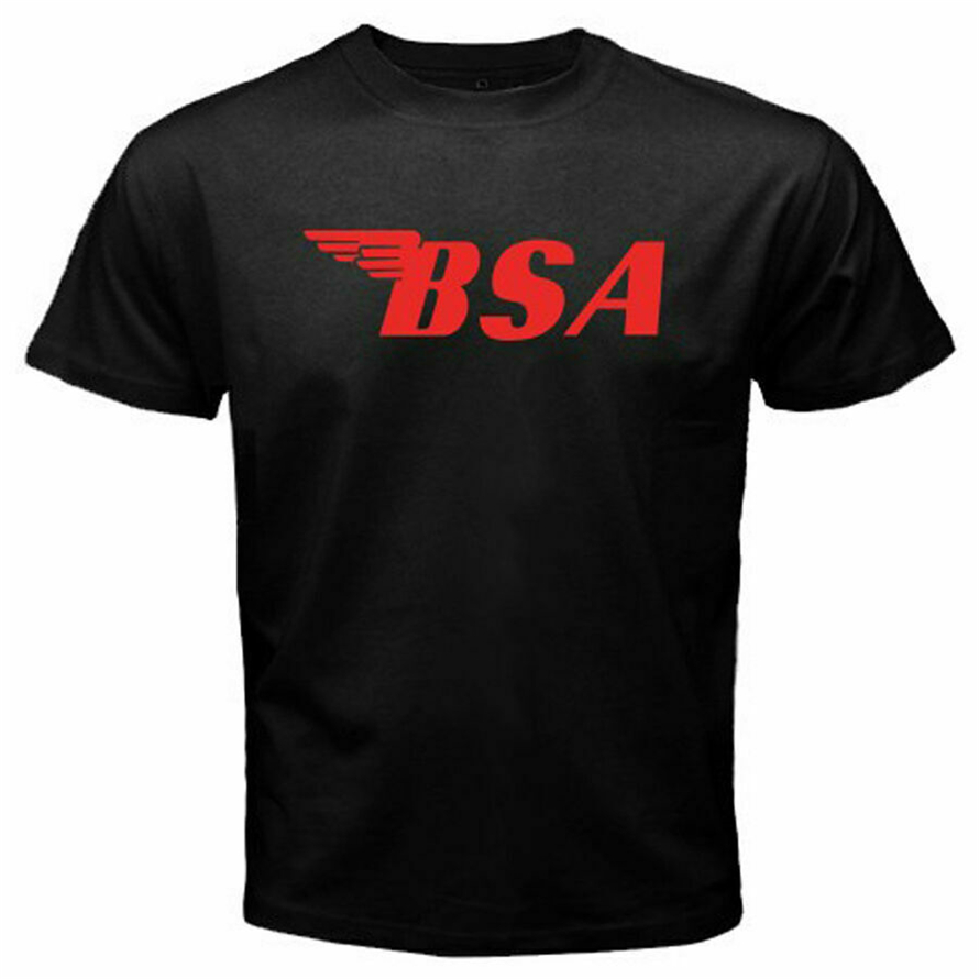 New <font><b>Bsa</b></font> Retro Classic Motorcycles Logo Norton Men'S Black T-<font><b>Shirt</b></font> Size S-3Xl Tee Tshirt Tee <font><b>Shirt</b></font> image