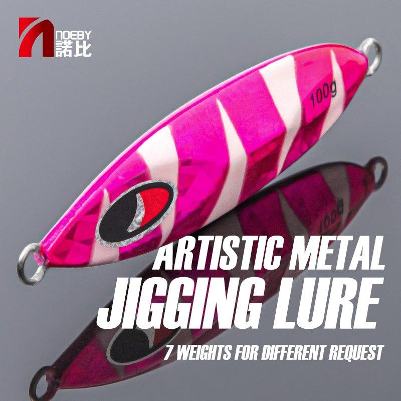 Купить noeby медленный металлический джиг искусственная приманка для