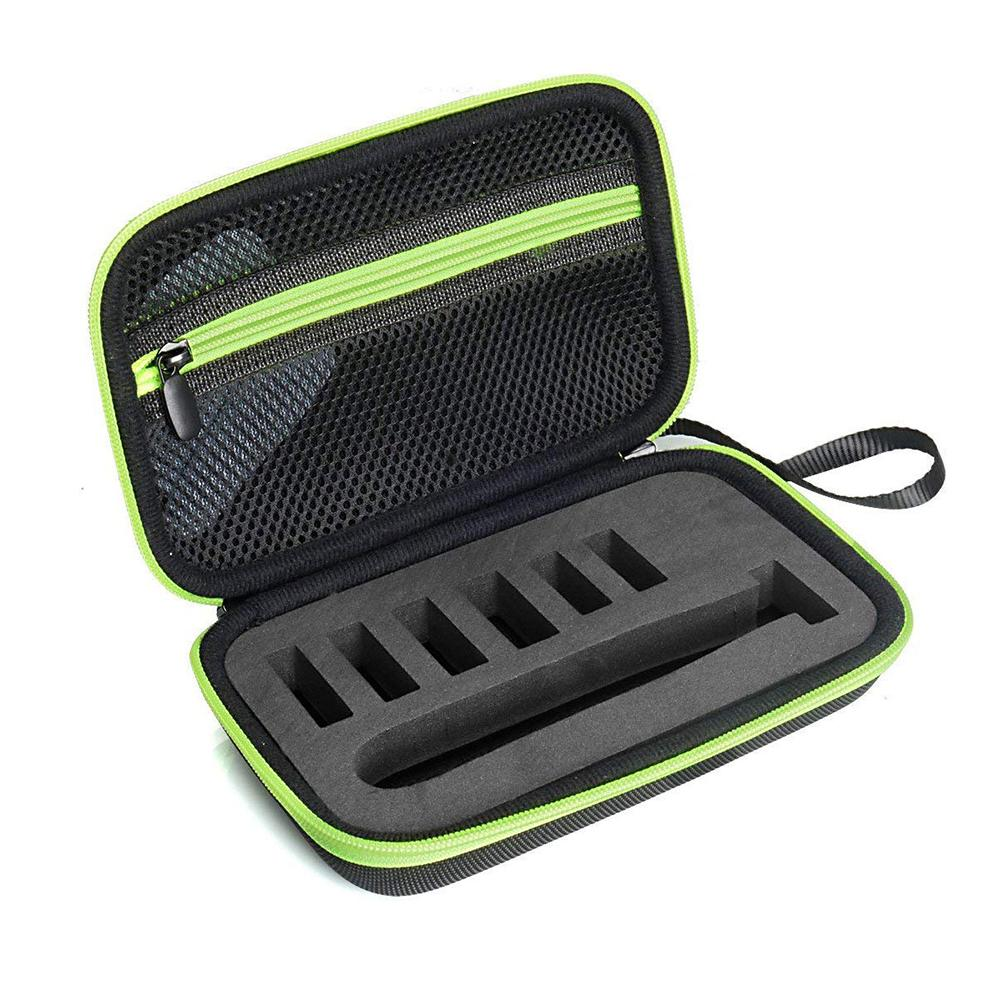 Protective Box Case EVA Pouch Travel Bag For Philips OneBlade QP2520 QP2630 Shockproof Shaver Carrying Case image